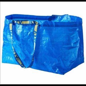 4/$16 IKEA Reusable Frakta Tote Bags NWT
